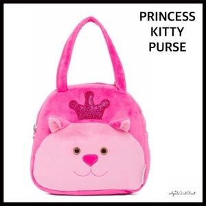 Other - KITTY PLUSH NOVELTY CAT GIRL'S MINI PURSE BAG